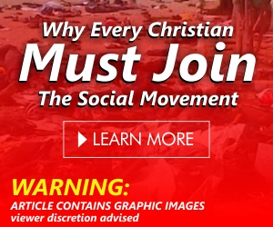 Why Every Christian Must Join The Social Movement