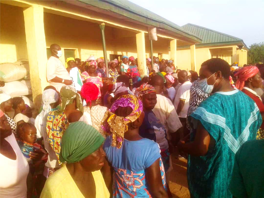 Relief Distribution to IDPs in TARABA STATE